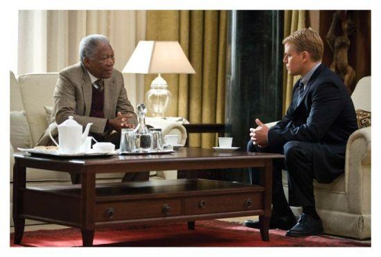 Morgan Freman es Nelson Mandela en Invictus