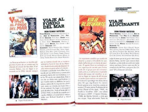 Libreto incluido en la Edición Especial Coleccionista Cine Fantástico y Ciencia Ficción