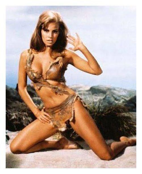 Raquel Wech en Hace un millón de años