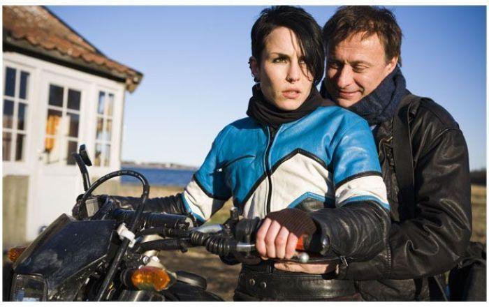 Lisbeth Salander y Michael Blomkvist (protagonistas de Millennium)