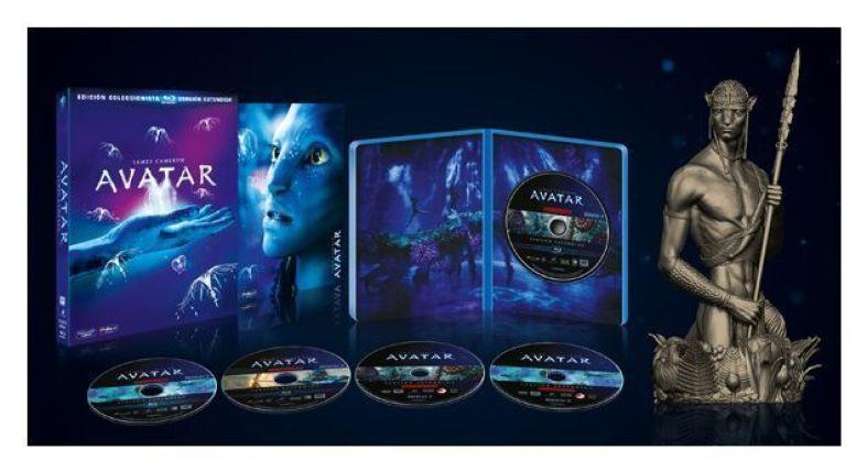 Avatar Edición Coleccionistas con figura de Jeke Sully