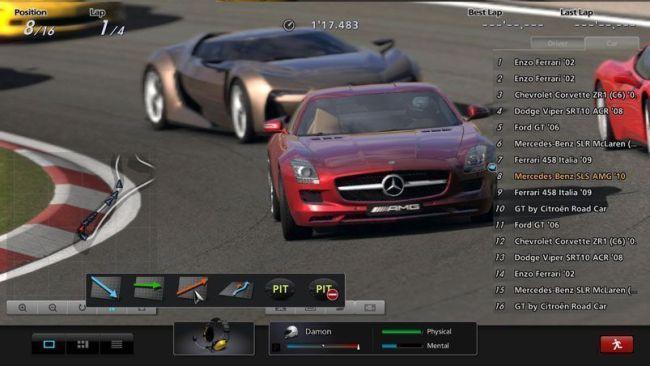Circuito de competición en GT5