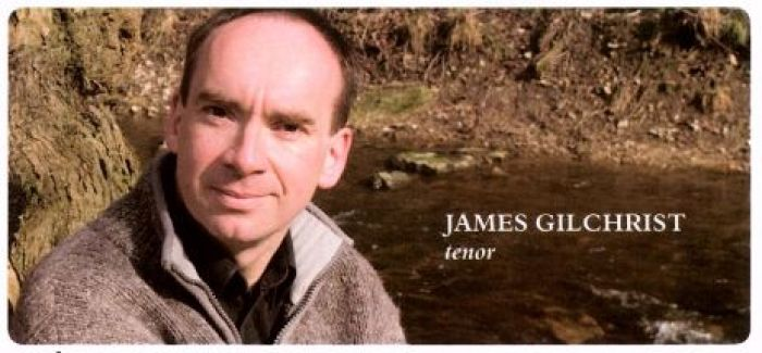 James Gilchrist, tenor
