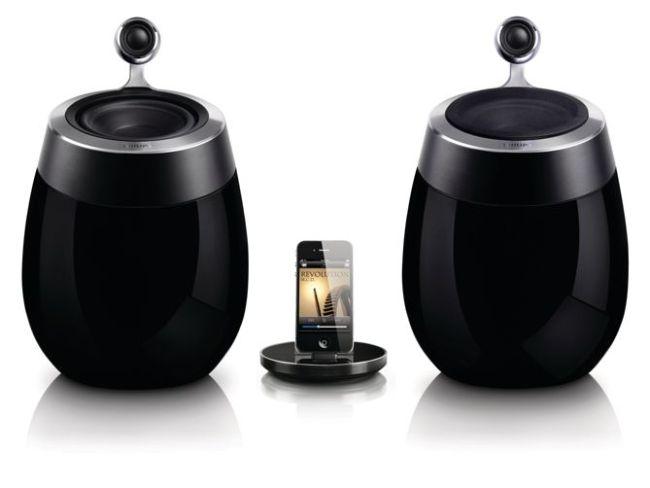 Sistema musical Fidelio con altavoces SoundSphere de Philips
