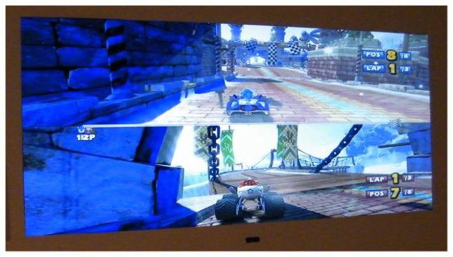 Partición de pantalla para dos jugadores