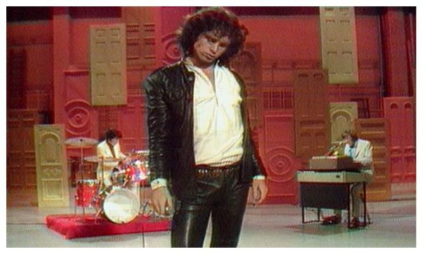 Jim Morrison en televisión