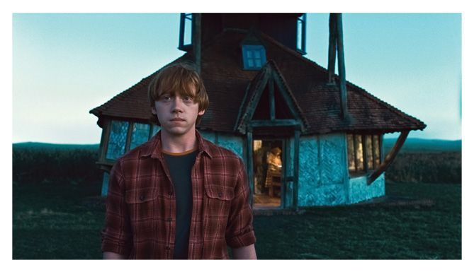 Rupert Grint en Harry Potter y las Reliquias de la Muerte