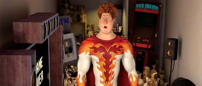 """Personaje de Titan en """"Megamind"""" de DreamWorks"""