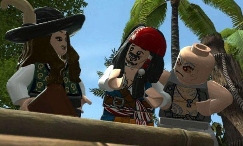 """Penélope Cruz y Johnny Depp son muñeos LEGO en """"LEGO PIRATAS DEL CARIBE - El videojuego para PS3"""
