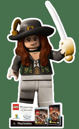Penélope Cruz es un muñeco LEGO en LEGO Piratas del Caribe