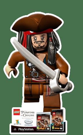"""Johnny Depp es """"Jack Sparrow LEGO"""" en LEGO Piratas del Caribe"""
