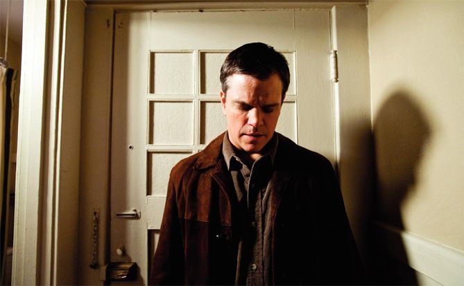 """Matt Damon en """"Más allá de la vida"""" dirgido por Clint Eastwood en 2010"""