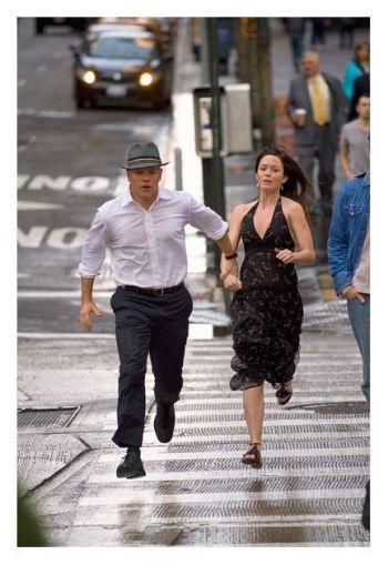 "Matt Damon y Emily Blunt en ""DESTINO OCULTO"""