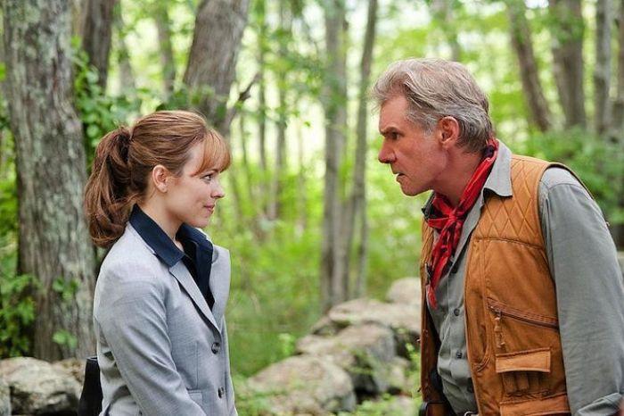 """Rachel McAdams y Harrison Ford en """"MORNING GLORY"""" (2011)"""