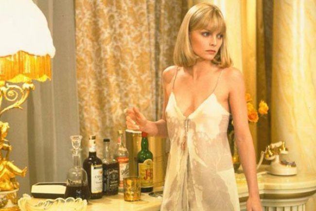 """Michelle Pfeiffer en """"Scarface, El Precio del Poder"""" (1983)"""
