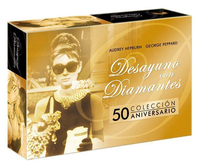 """Estuche del pack BD combo """"Colección 50 Aniversario"""" de """"Desayuno con Diamantes"""" (1961)"""