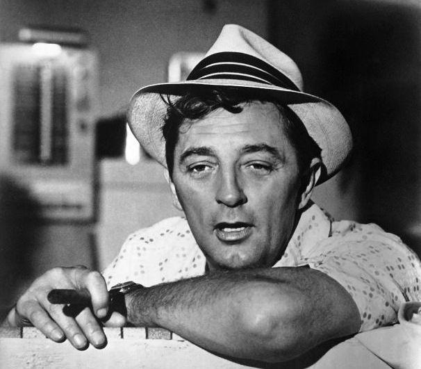 "Robert Mitchum en ""El Cabo del Terror"" (1962)"