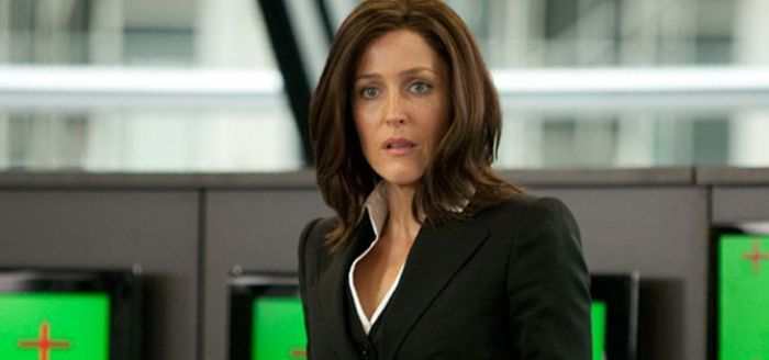 "Gillian Anderson en ""Johnny English, Returns"" en DVD"