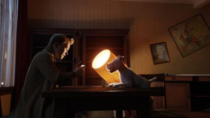 """""""La aventuras de Tintín: El secreto del unicornio"""" Blu-Ray (2011)"""
