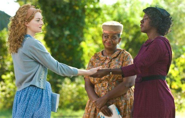 """Emma Stone, Octavia Spencer y Viola Davis en """"Criadas y Señoras"""" (2011)"""