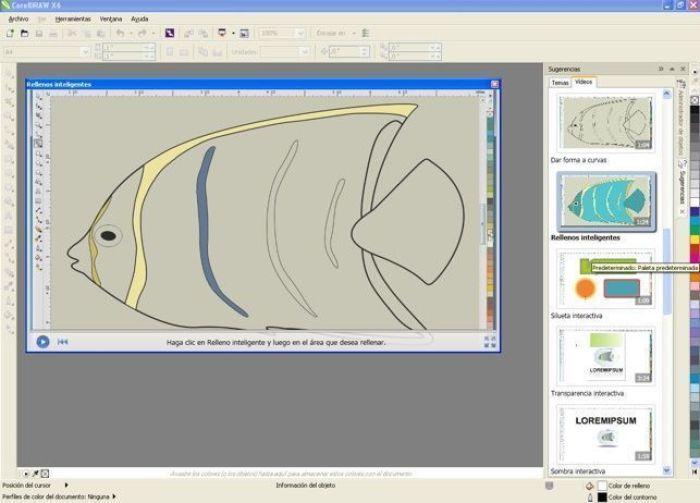 Creación de dibujos mediante CorelDRAW® X6