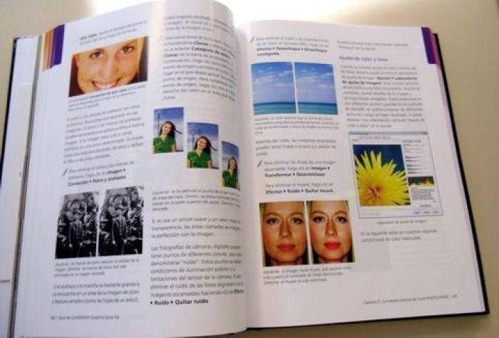 """Guía impresa incluida en la versión con caja de """"CorelDRAW® Graphics Suite X6"""""""