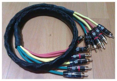 CGes Cables para baja frecuencia con RCA (versión 5.1)
