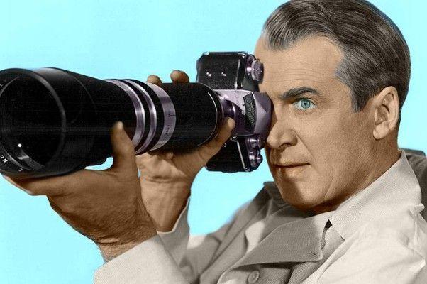 James Stewart (La Ventana Indiscreta, 1954)