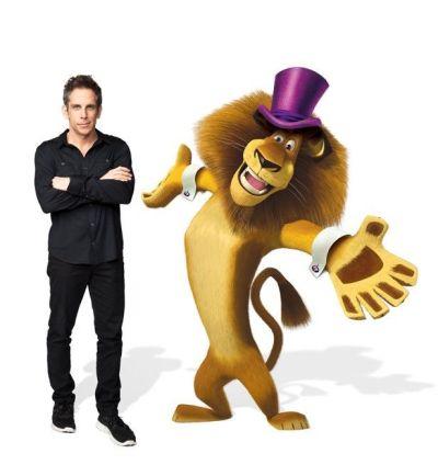 Ben Stiller es Alex en MADAGASCAR 3