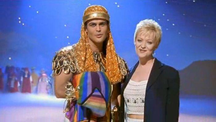 Josef y su sorpredente manto de sueños en Tecnicolor (1999)