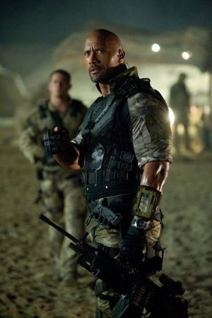 "Dwayne ""The Rock"" Johnson en ""G.I. JOE: LA VENGANZA"""