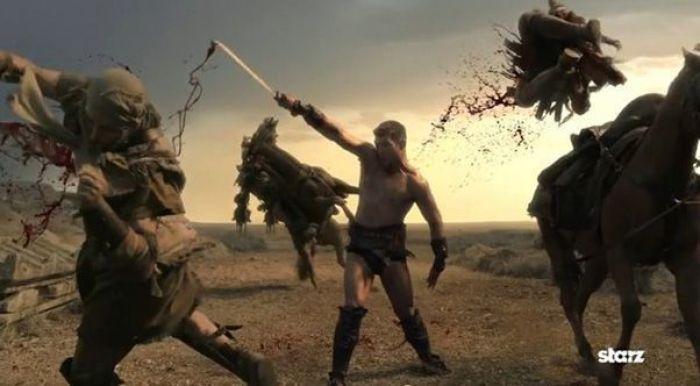 """""""Spartacus: Venganza"""" (2012)"""
