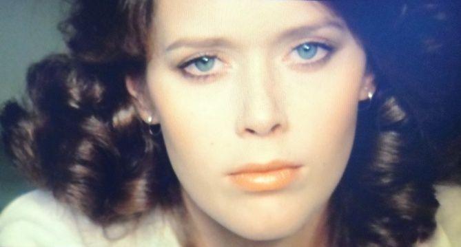"Silvia Kristell en su personaje ""Emmanuelle"""