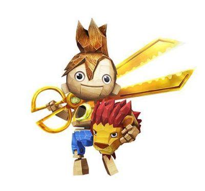 """""""Kutaro"""", personaje en """"Puppeteer"""" para PS3 (2013)"""
