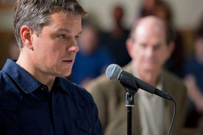 "Matt Damon en ""Tierra Prometida"" (2012)"
