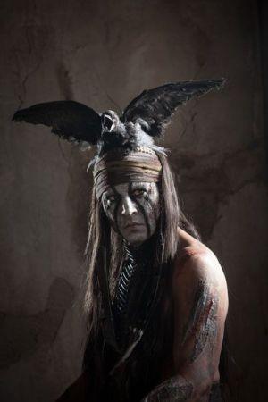 """Johnny Depp es """"Toro"""" en """"El Llanero Solitario"""" (2013)"""