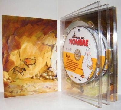 """""""Erase una vez el hombre"""" La serie completa en DVD"""
