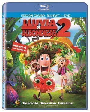 Lluvia de Albóndigas 2 (BD + DVD)