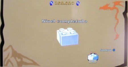 Lego: El Hobbit (nivel y puntuación)