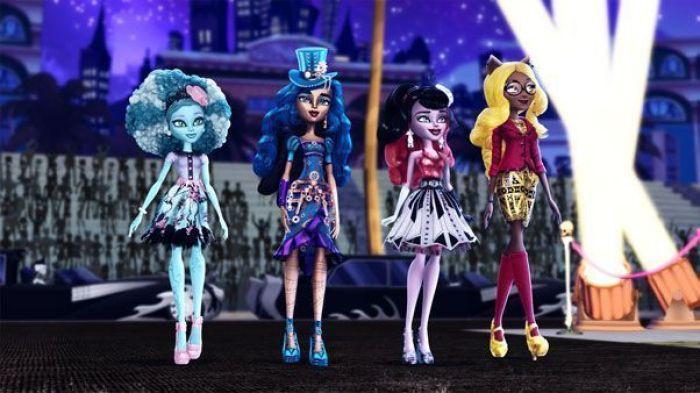 Monster High - ¡Monstruos! ¡Cámara! ¡Acción! (2014)