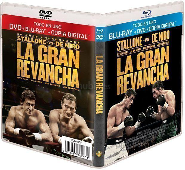 """La gran revancha (2013) en Blu Ray """"Todo en uno"""""""