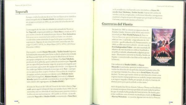 """NAUSICAÄ DEL VALLE DEL VIENTO. Libreto de coleccionista incluido en la edición """"Studio Ghibli Collection DeLuxe"""""""