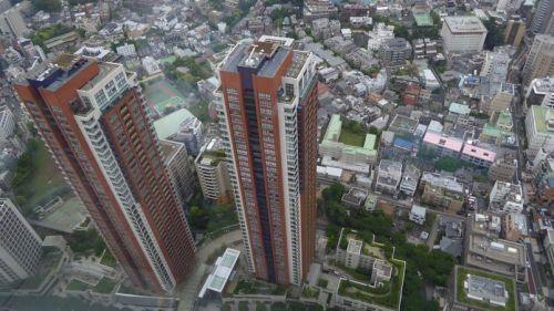 Foto tomada desde un rascacielos de Tokyo. Foto de Xavier Sastre Silvestre con Panasonic TZ60