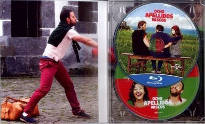 Ocho apellidos vascos (2014) estuche Blu-Ray