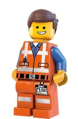 "Emmet en ""La Lego Película"""