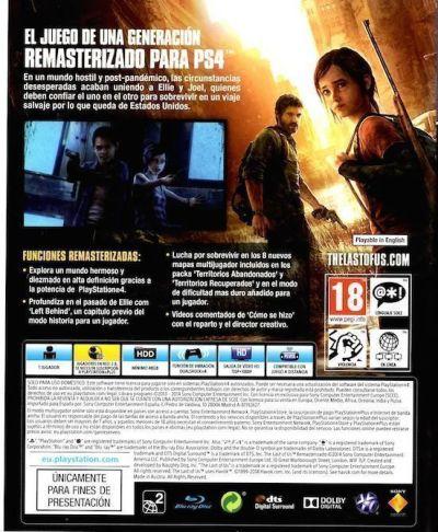 The Last of Us (remasterizado para PS4)