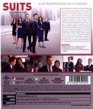 SUITS temporada 3 en Blu-Ray