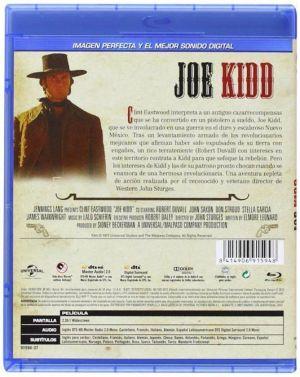 Joe Kidd (carátula trasera del Blu-Ray)