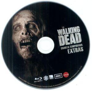 THE WALKING DEAD (disco de extras de la temporada 4)