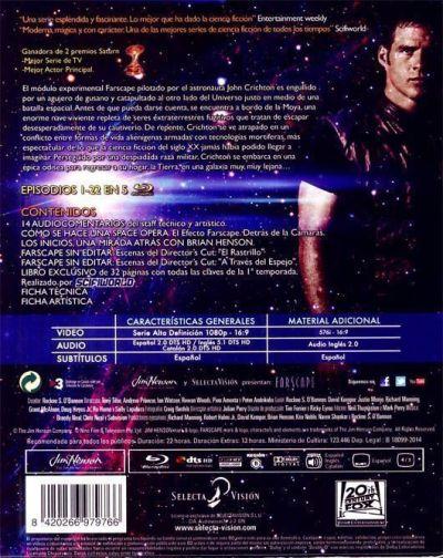 """""""FARSCAPE"""" (Edición 15 Aniversario en Blu-Ray) - Crítica en AudioVideoHD.com"""